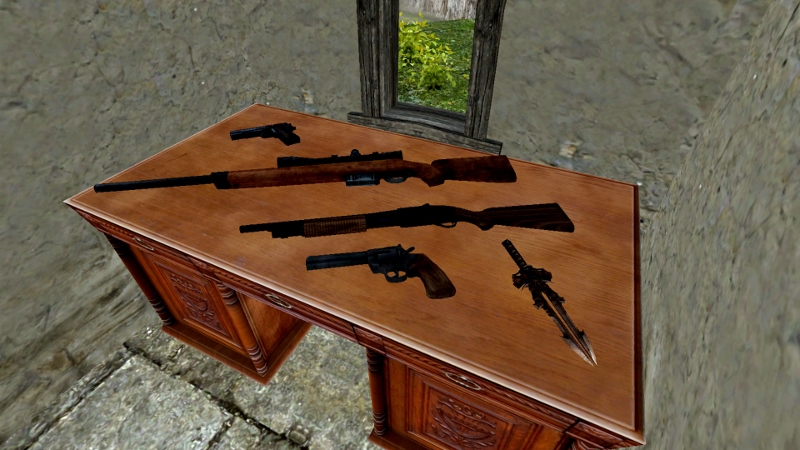 Game weapons 01
